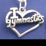 Sterling Silver Gymnastic Pendant- No.3